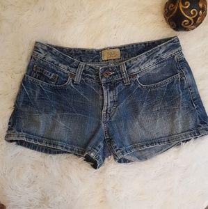 BKE Denim Shorts  Buckle Shorts